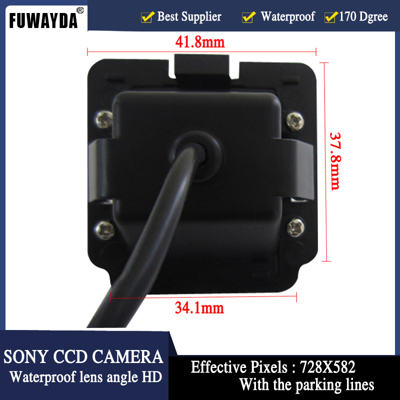 FUWAYDA SONY CCD Chip Special Car Rear View Reverse Parking Backup Safety DVD GPS NAV CAMERA for MITSUBISHI OUTLANDER HD