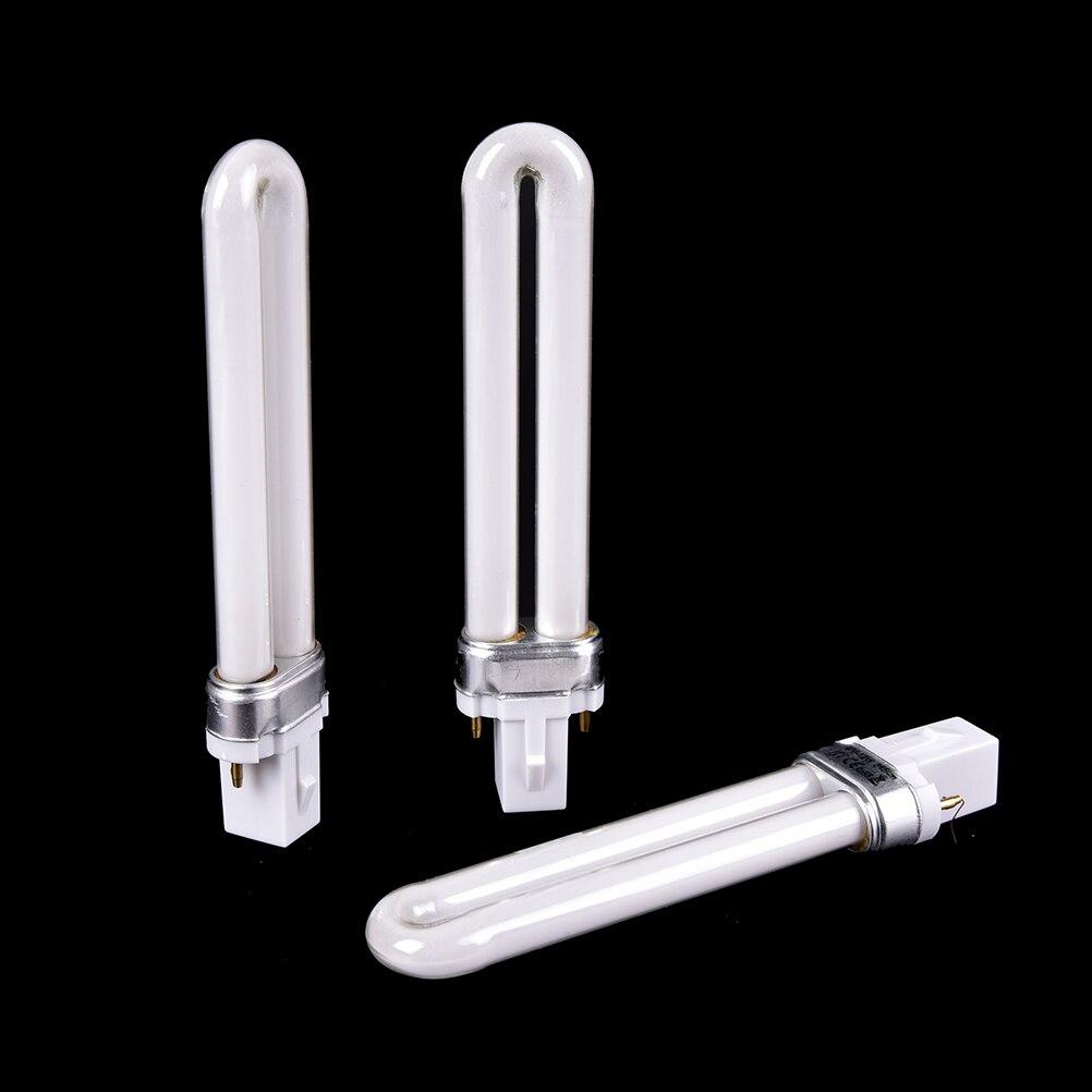 1Pc Original U-Shape 12W UV Lamp Lights Bulb Tube For Nail UV Gel Manicure Machine Nail Dryer LED Machine Lamp Bulb Tubes