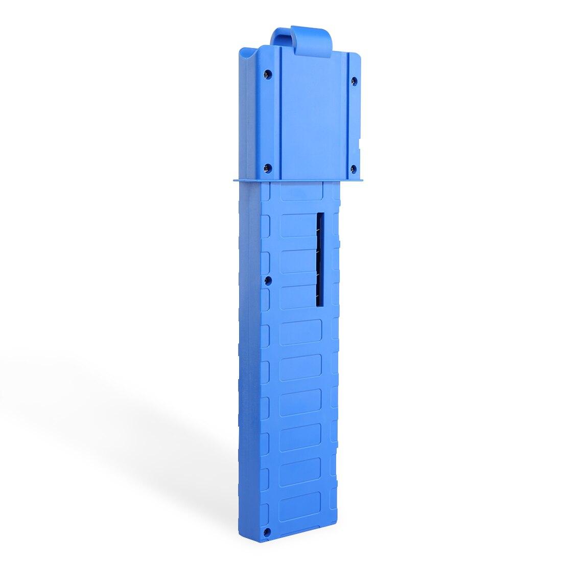 Артефакт mod работает 18 Дартс короткие пули перезагрузить клип картридж Dart зажим для nerf-синий