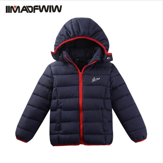 2016 explosión de deportes de ocio para niños y niñas y los niños de algodón abrigo de ventas directas de la fábrica