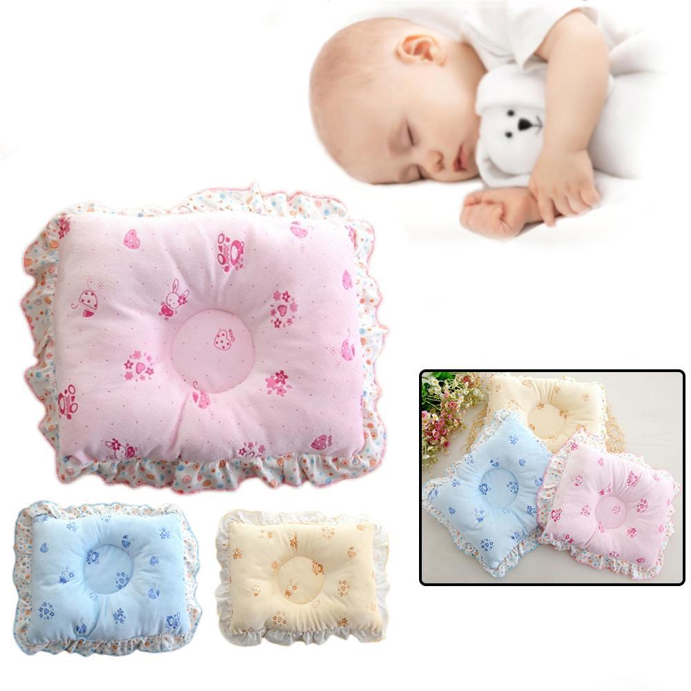 Cotton Newborn Baby Positioner Anti-rollover Pillow Head Shaping Nursing Pillow