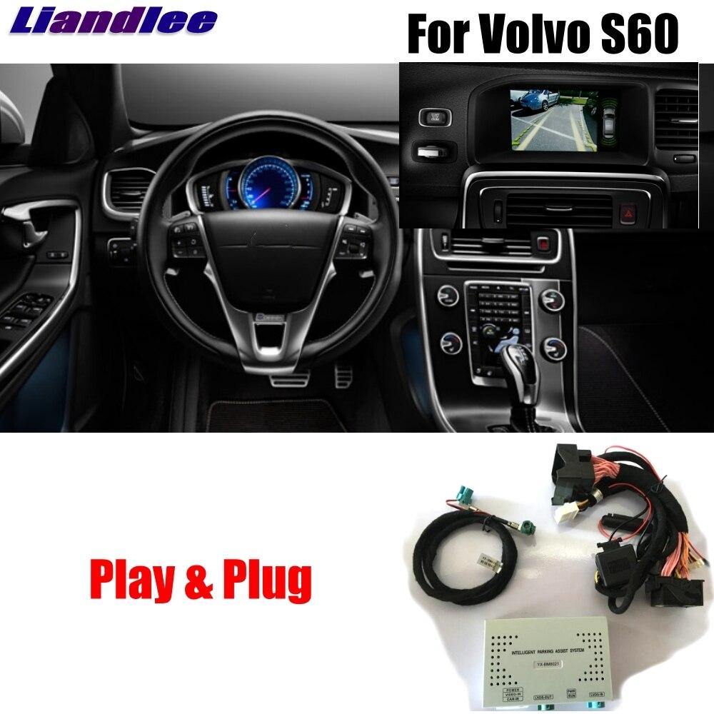 Liandlee Parking Caméra Interface Inverse Caméra de Recul Kits Pour Volvo S60 2015 2016 Affichage Mise À Niveau