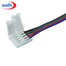 100pcs 4pin Connector for SMD 5050 RGB color LED Strip Wire