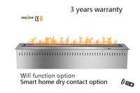 36 inch Smart Remote control  intelligent silver or black  bio kamin