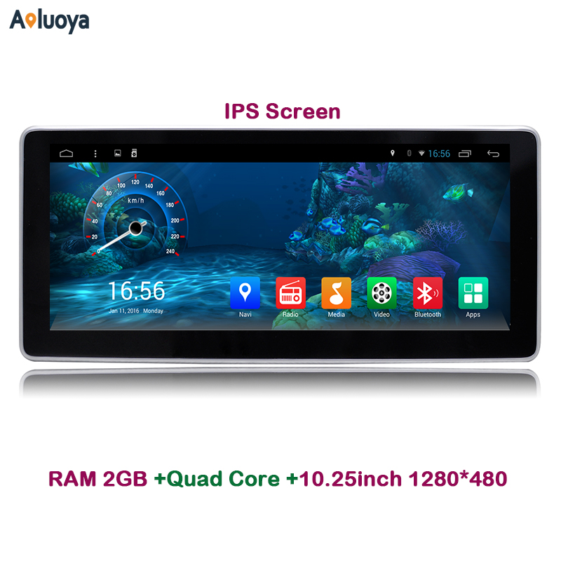 Aoluoya 10.25 IPS 2GB RAM Android 6.0 Car DVD GPS FOR Mercedes Benz GLK X204 2008 2009 2010 2011 2012 Radio audio multimedia 3G