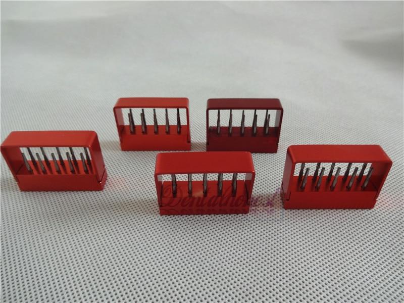 50pcs 5 boxes Dental Tungsten Steel drills burs For High speed Handpiece