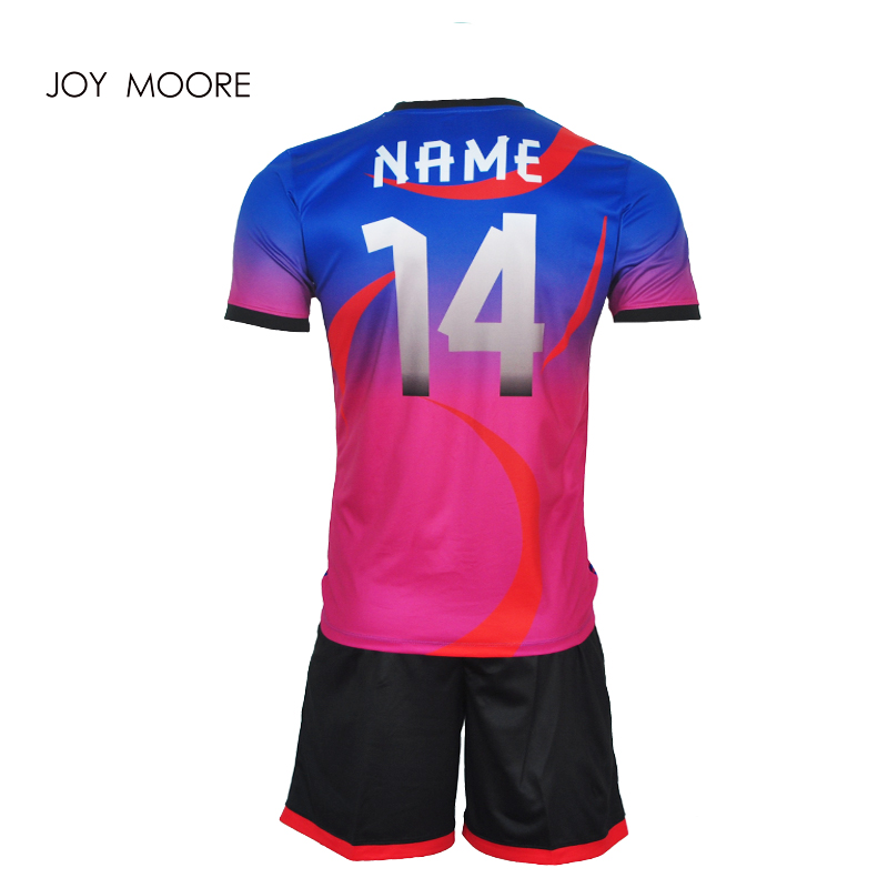 97c5b53fd3f High Quality Child Kids Football Kit 2017 2018 Soccer Jersey Kids Sets Suit  Team Custom Training Football Shirts Jersey-in Soccer Sets from Sports ...