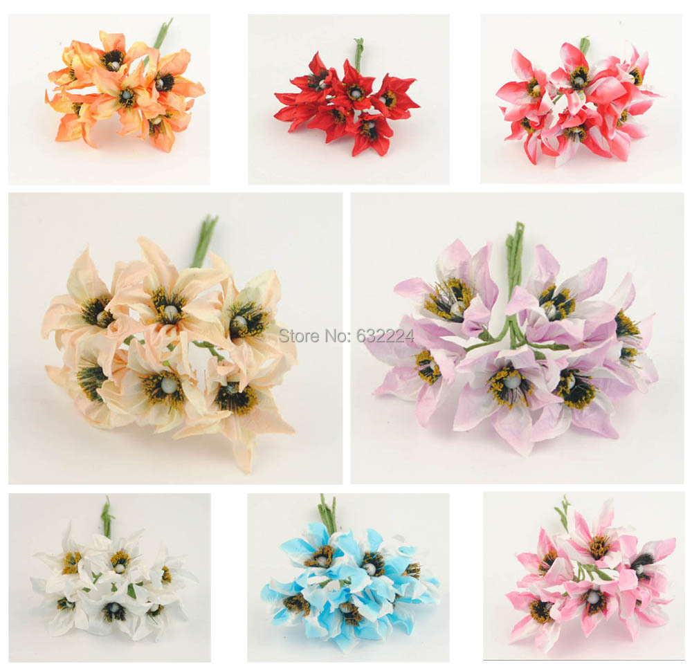 Paper flowers mini artificial flower hand made small wedding bouquet paper flowers mini artificial flower hand made small wedding bouquet scrapbooking decor free shipping in artificial dried flowers from home garden on mightylinksfo