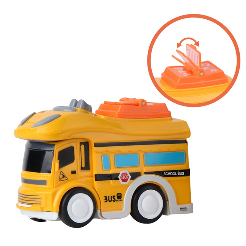 3 Pcs City Bus Inertial Cars Kids Toys Car Model Vehicles Baby Toy Layout Landscape Gift Boy Diecasts Toy Vehicles in Diecasts Toy Vehicles from Toys Hobbies