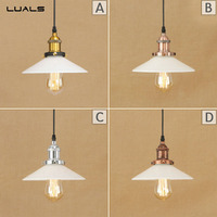 Nordic Pendant Lamp Loft Retro Glass Pendant Light Adjustable Suspension Luminaire For Cafe Bar LED Pendant Lamps Lighting