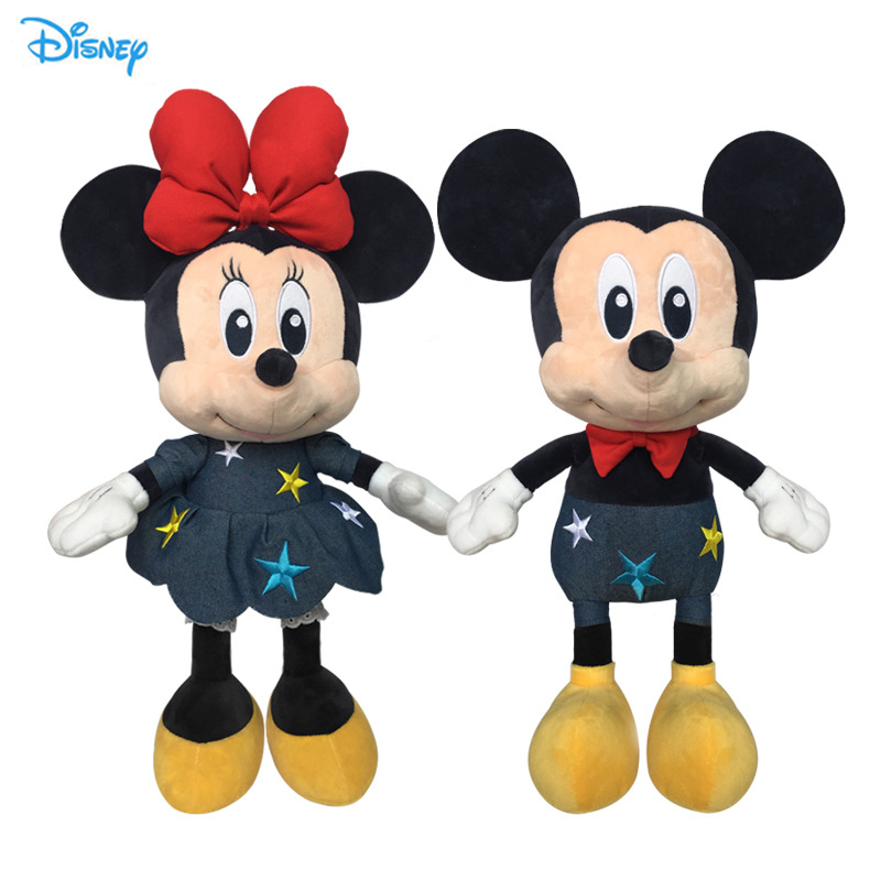 Original Disney Mickey Mouse Minnie Mouse Plush Dolls