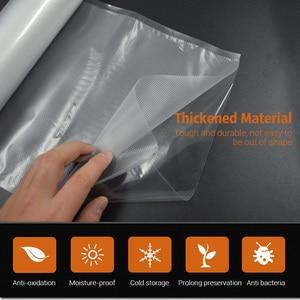 Image 4 - Tinton生活の台所食品真空バッグ保存袋真空シーラー食品新鮮なロング維持 12 + 15 + 20 + 25 + 28 センチメートル * 500 センチメートル 5 rolls/ロット