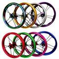 PASAK Schiebe Bike Laufradsatz 12inch Gerade-pull Lager BMX Kinder Kinder Balance Fahrrad Räder 85mm 95mm BMX