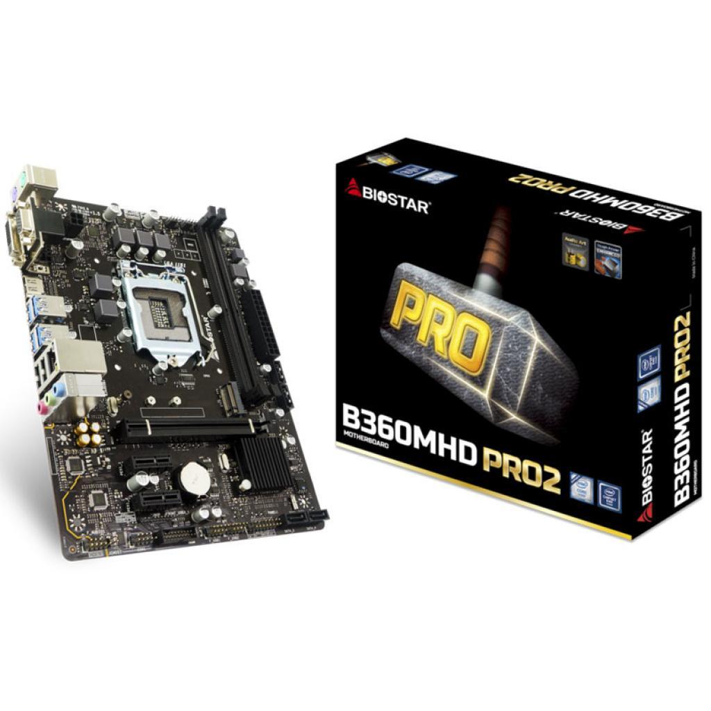 Full new Biostar B360MHD PRO2 socket 1151 DDR4 Micro ATX motherboard support 8th generation processor