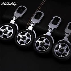 Новый стиль автомобиль колесо брелок для ключей Nissan, Qashqai, Juke Примечание Almera Teana Tiida Murano Pathfinder Цепочки Кольца Для Ключей