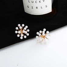 Design sense buck jean lo earrings for women 2019 new trend cool wind exaggerated