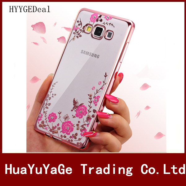<font><b>Phone</b></font> <font><b>cases</b></font> Soft <font><b>Case</b></font> Slim Ultra thin flower Bling <font><b>diamond</b></font> Back cover for Samsung Galaxy Grand G530 G5308 G3608 I9082 <font><b>I9060</b></font> <font><b>Case</b></font>