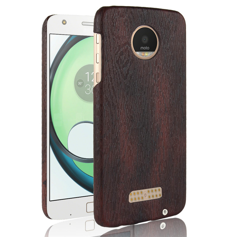 SuliCase Leather Case for Moto Z Play XT1635 Wood Grain Hard Case Cover for Motorola Moto Z Play ZPlay Hard PC Frame Cover in Fitted Cases from Cellphones Telecommunications