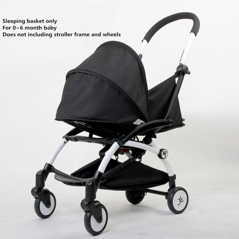 Six color newborn baby sleeping basket 0 6 months baby use baby carriage fit yoya stroller
