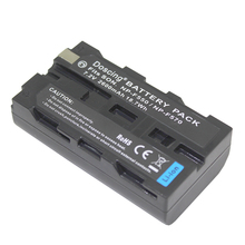 7.2V 2600mAh NP-F550 NP F550 NPF550 Rechargeable Li-ion battery For Sony NP-F330 NP-F530 NP-F570 NP-F730 NP-F750 Hi-8 Wholesale