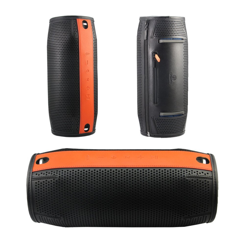 Carry Pouch Sleeve Portable Protective Box Cover Bag Cover Case for JBL Xtreme Bluetooth Speaker Premium PU Semi-mesh Design