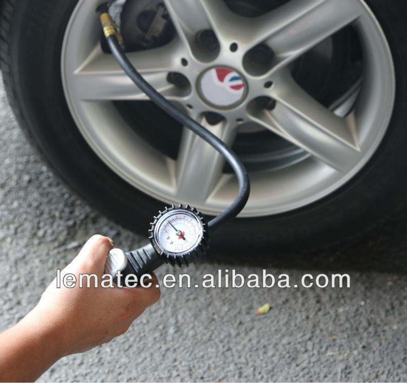 LEMAEC Nafukovací systém pneumatik s měřidlem Nástroje na opravu - Elektrické nářadí - Fotografie 5