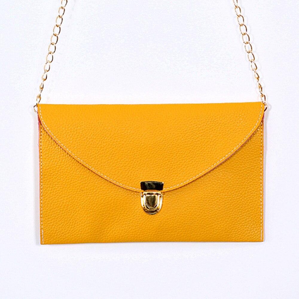 Womens Envelope Clutch Chain Purse Lady Handbag Tote Shoulder Hand Bag