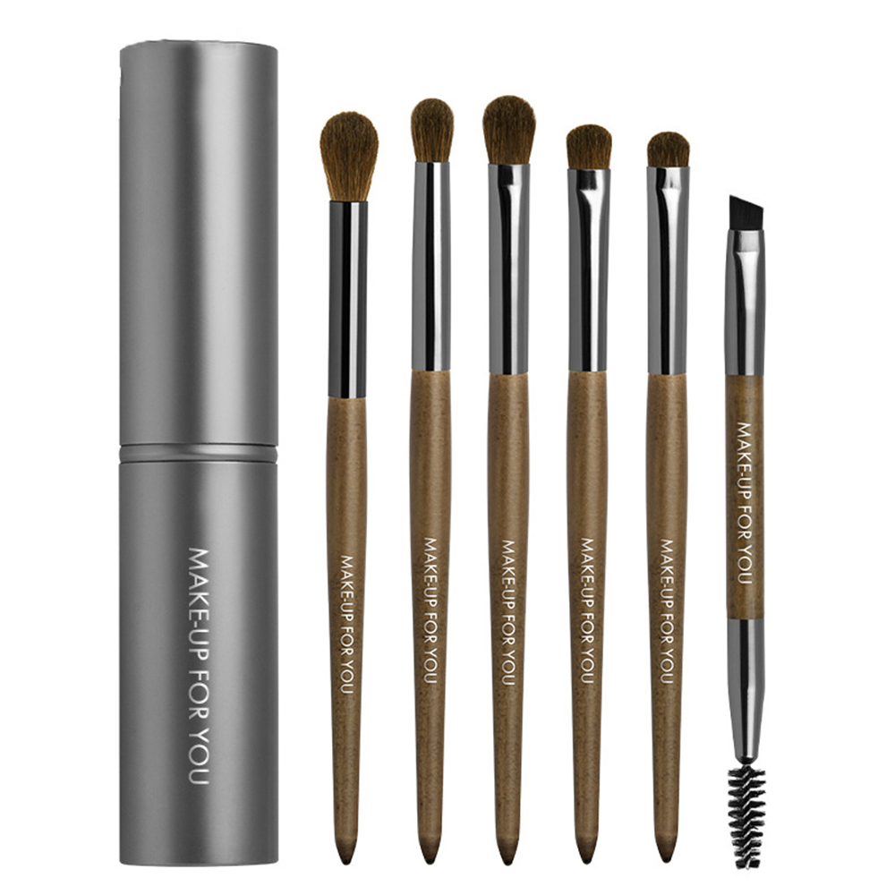 Brushes-Set Cylinder-Case Eyeshadow Animal-Hair Blending Professional High-Quality Eye-Makeup-Tools title=