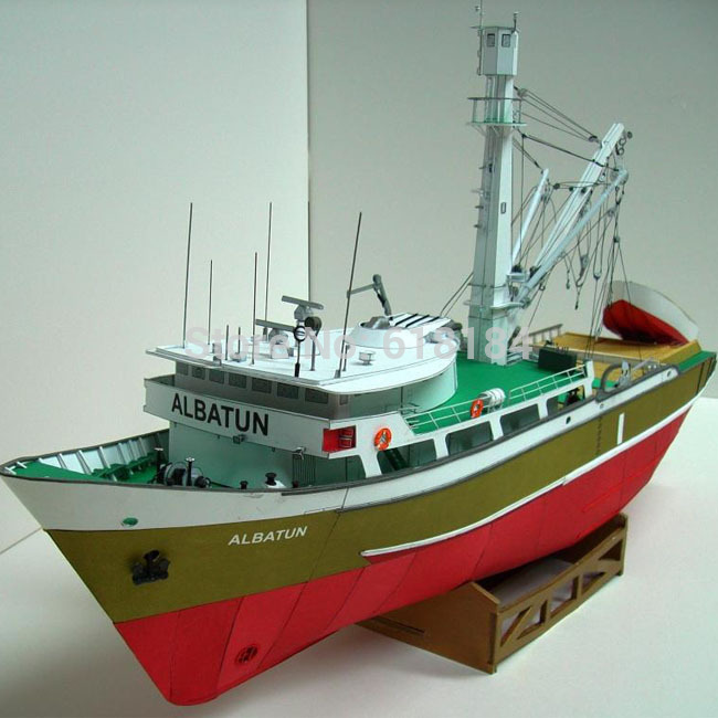 Aliexpress.com : Buy New 2016 A3 version Paper Model Ships 1/100 scale ...