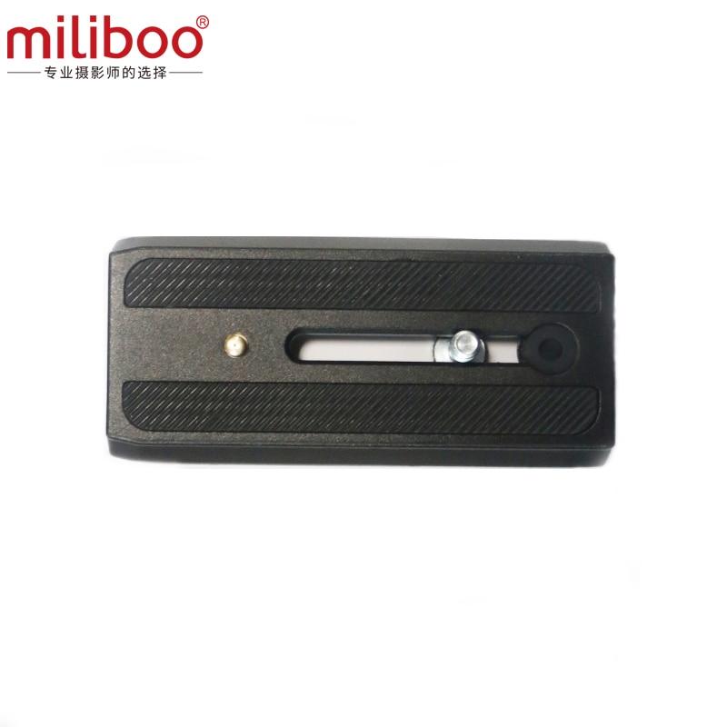 miliboo fényképezőgép rövid gyorskioldó lemez MYT805 professzionális állványra / monopod fejállványra 108cm * 50cm