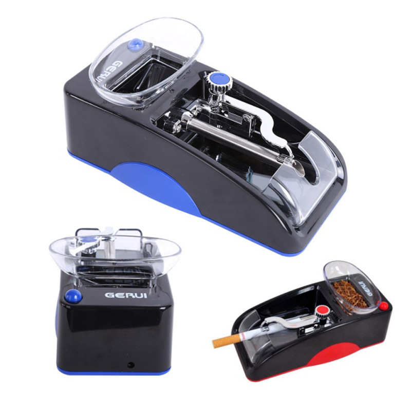 Electric Easy Automatic Cigarette Rolling Machine Tobacco Injector Maker Roller Drop Ship Electric Power Cigarette Accessories