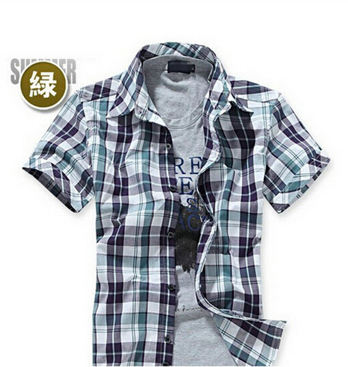Popular Plaid Shirts for Men Cheap-Buy Cheap Plaid Shirts for Men ...