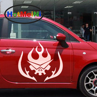 Hotmeini 2 ×日本アニメ漫画血液将来世界天元突破グレンラガン面白い車のステッカードアカヌー車カバービニールデカール9