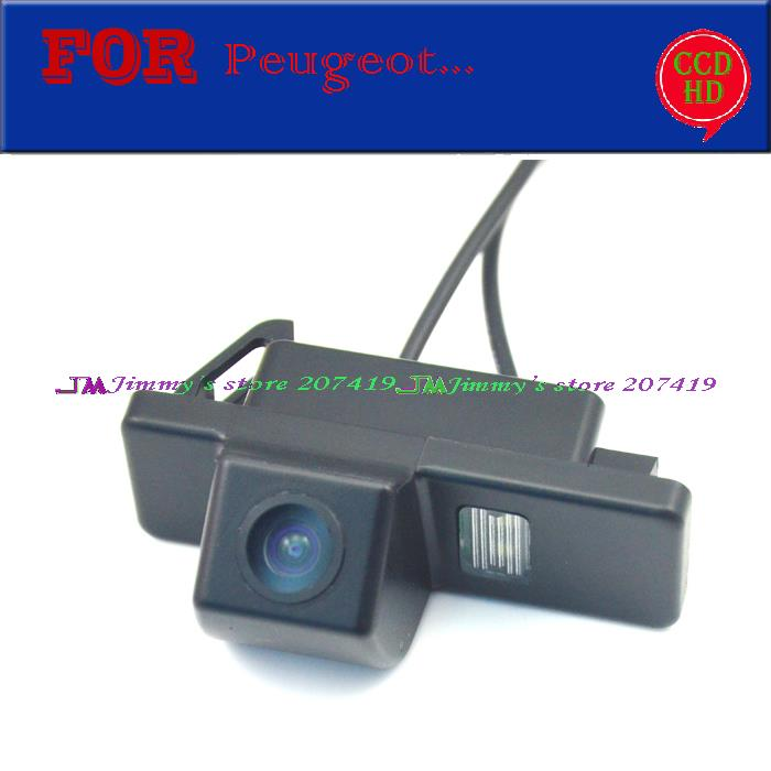 wireless wire car parking camera for sony ccd Peugeot 307,308 ...
