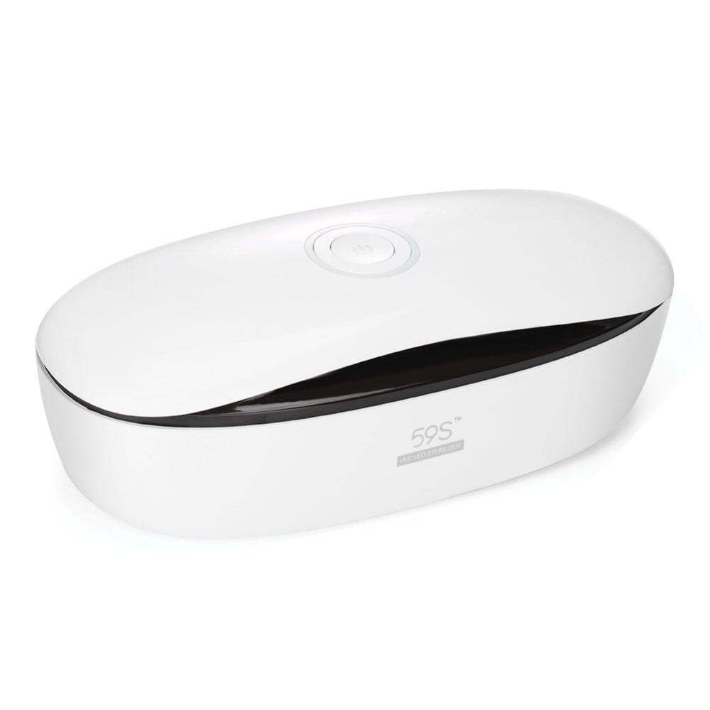 Pill Box LED Sterilizer Cosmetic Tools Kit Medicine Box Beauty Sets Makeup Brush Cleaning Tools UV
