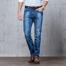 Lgnacelee мужчины джинсы прямого участка молодежи осень зима весна досуг брюки хан издание воспитать в себе мораль