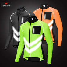 WOSAWE Motorcycle Jacket Men Reflective High Visibility Moto Sportswear Outer Clothing Water Repellent Racing Coat Summer