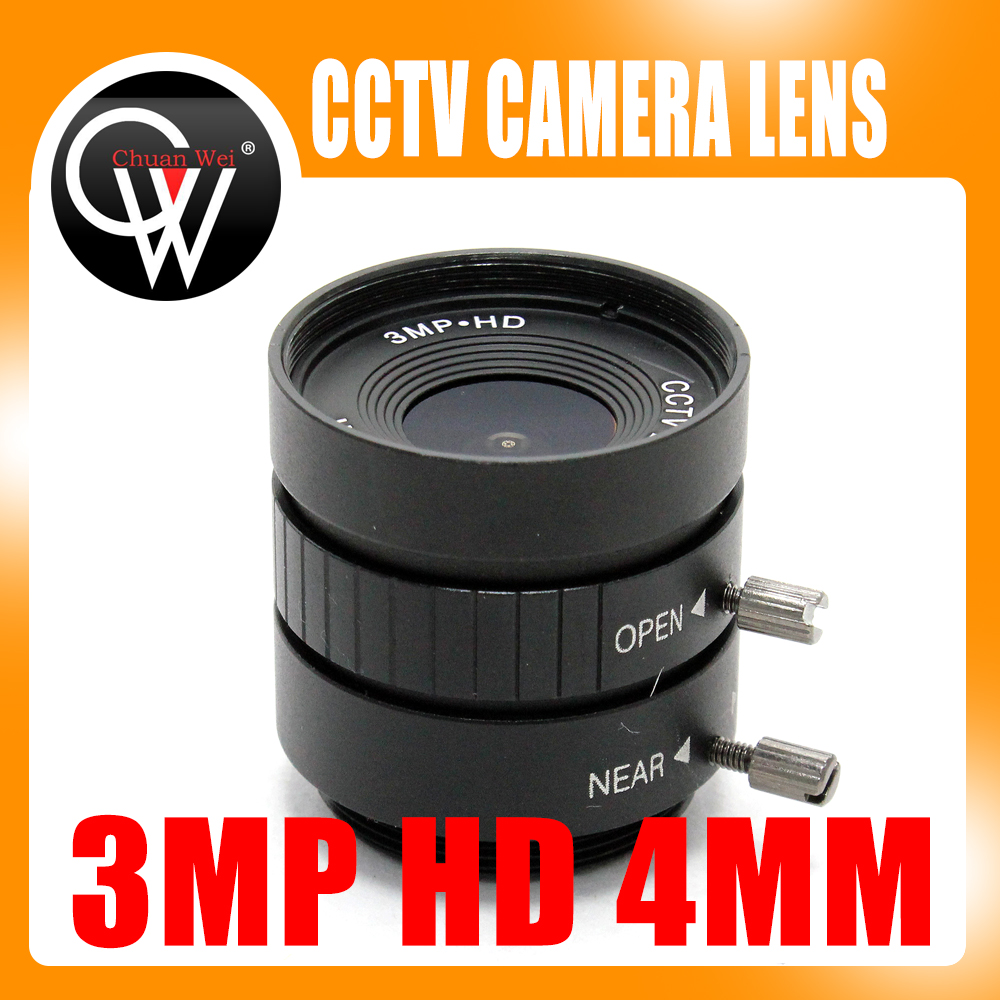 3MP HD 4mm lens Manual 1/2 Iris C Mount Industrial lens CCTV Camera Lens for HD Camera ip camera 3mp 4 18mm cctv lens manual iris varifocal 1 1 8 inch c mount industrial lens for imx185 1080p box camera ip camera