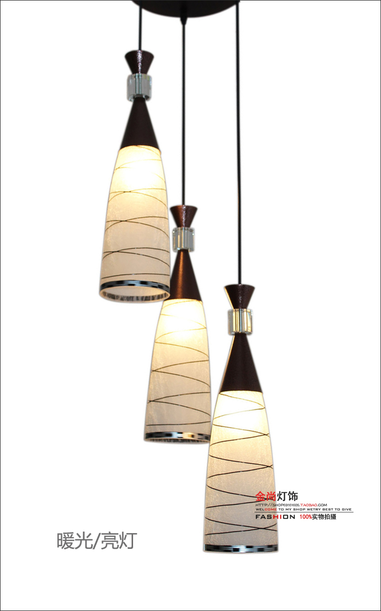 ФОТО Modern Pendant Lights stylish minimalist meal restaurant bar lighting dining room lamp hanging wire glass dining