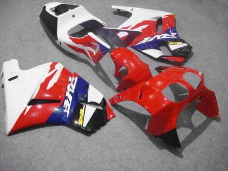 Vendita calda carena per Honda RVF400R NC35 rosso bianco carena kit 1994-1998 RVF400 VB02