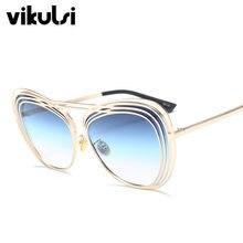 d905e3115cb 2018 Italy Luxury Brand Oversized Aviator Sunglasses Women Men Brand  Designer Retro Frame Sun Glasses For Female oculos UV400