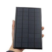 Портативная солнечная мини панель, модульная панель 9 В, 3 Вт, 330 мА, для солнечной лампы, зарядное устройство для телефона