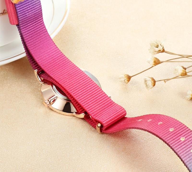 Nya mode lyx märke kvinnor titta på 18MM nylonrem affär casual - Damklockor - Foto 4