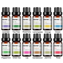 12 pcs Humidifier Oil with 12 Kinds of Fragrance Jasmine Brand New Water-soluble Oil Essential Oils for Aromatherapy Lavender essential oils for aroma diffuser water soluble oil for aromatherapy air humidifier oil fragrance jasmine