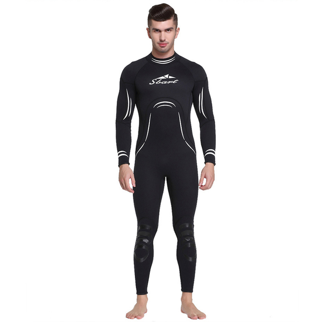 901e215ae4 C247 Couples Siamese diving suit Siamese 3MM rubber thick men and women  long sleeve surfing jellyfish clothing diving Swimwear