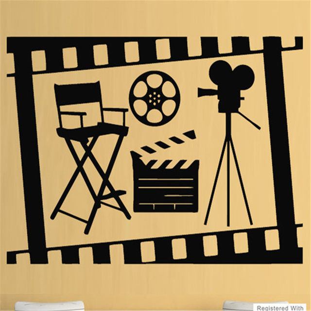 Nice Film Reel Wall Art Picture Collection - Wall Art Collections ...