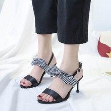 Fashion PU Leather High Heels Women Pumps Peep Toe Work Ribbon Stiletto Woman Shoes Weeding Office Career Elegant