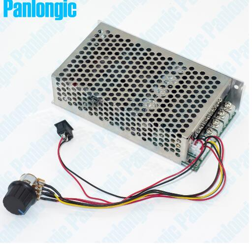 10-50 V/5000 W/100a DC moteur gouverneur PWM moteur contrôleur interrupteur positif et négatif