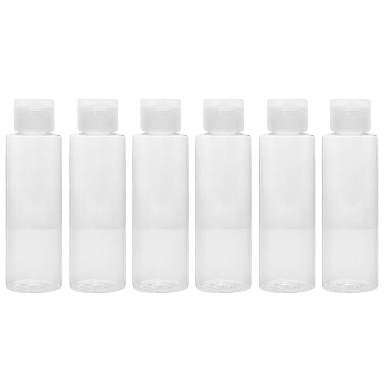 de5ebc07aec0 US $4.98 50% OFF 10 PCS 100ml Clear Plastic Air Flight Travel Bottles Set  Lotion Shower Gel Shampoo Container with 2 Small Funnel-in Refillable ...