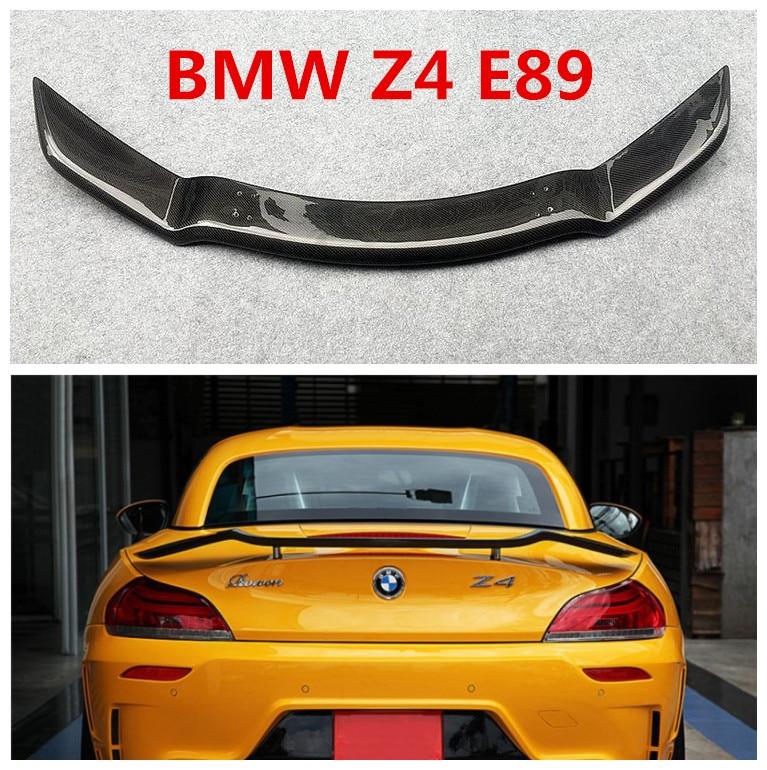 Спойлер из углеволокна для BMW Z4 E89 2009 2019 высококачественные задние Спойлеры крылья авто аксессуары